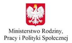 Link do strony Przejdź do: Ministerstwo Rodziny, Pracy  i Polityki Społecznej